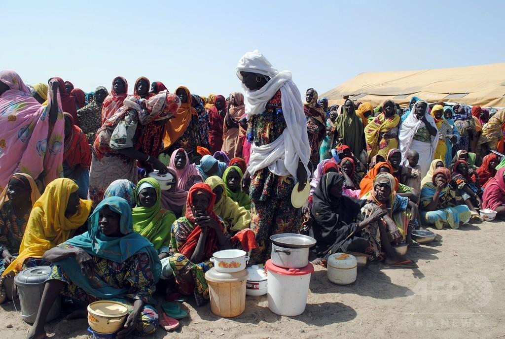避難民キャンプで女2人自爆、58人死亡 ナイジェリア
