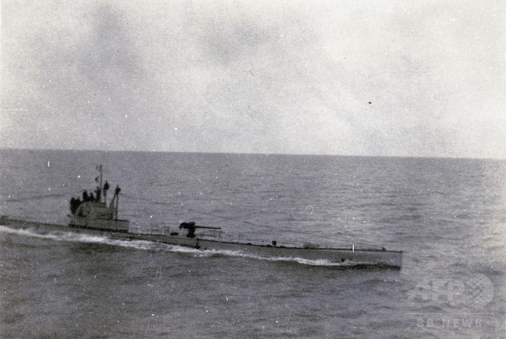 第1次大戦時の独潜水艦、ベルギー沖で発見 内部に乗組員か
