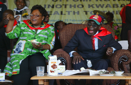 ムガベ大統領について冗談を言った男性、裁判に