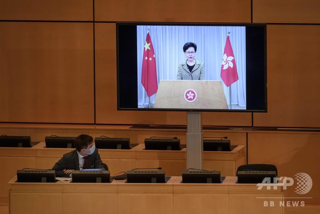 香港長官、国家安全維持法を擁護 今日中の施行の見通し示す