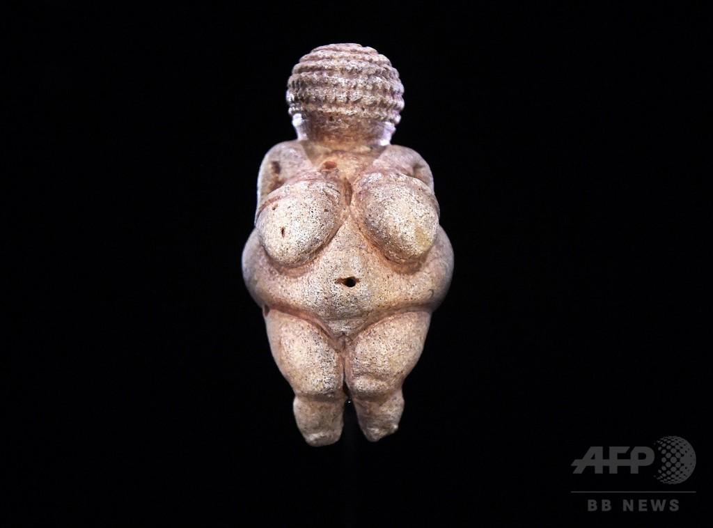 FB、旧石器時代の裸像を検閲 ウィーン博物館が批判