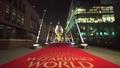 動画:英ロンドンで光る9本の巨大ハリポタ杖、子ども向け慈善活動支援