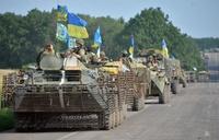 「ウクライナ兵が幼児はりつけに」、露TV報道に批判の声