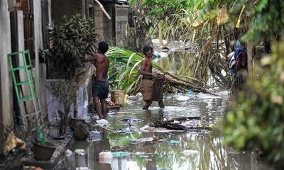 スリランカ豪雨の死者101人に 依然100人不明、530棟全壊