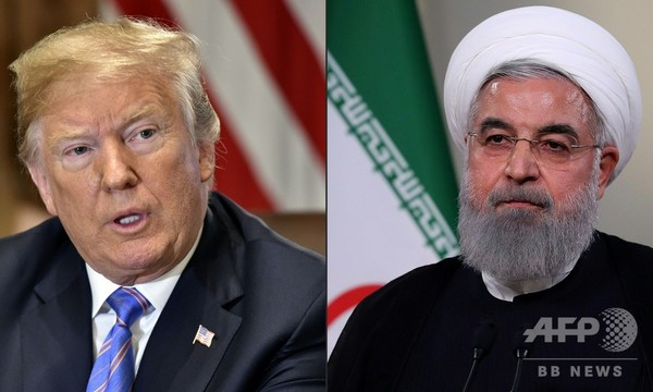 イラン大統領、米の「心理戦」批判 制裁再開控え