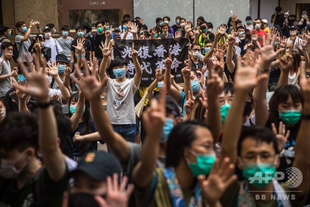 香港の自由侵害に制裁 米議会で法案可決 中国当局者や取引銀行対象