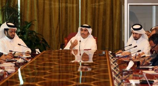外交危機のカタール「降伏しない」 外相、サウジなどの干渉批判