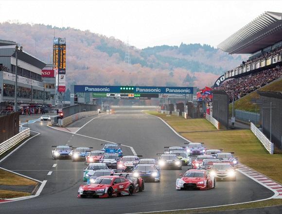 富士スピードウェイでDTMがスーパーGTマシンと対決! 期待通りの大熱戦!
