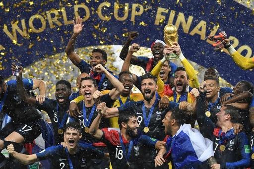 中国メーカー、フランスのW杯優勝で「全額返金」 総額13億円