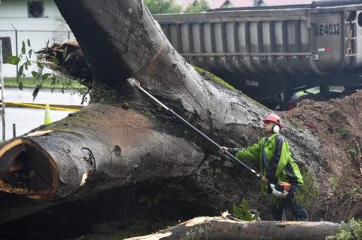 ハリケーン「オットー」発生、パナマでは3人死亡