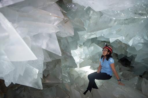 幻想的な光景広がる晶洞、スペイン・プルピ