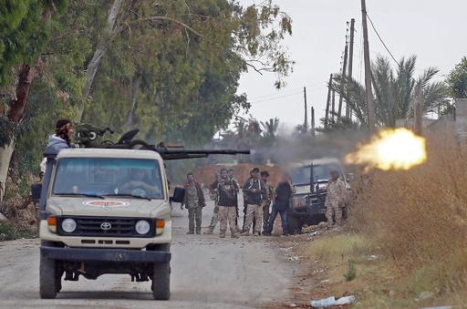 リビア首都、戦闘の死者1000人に 安保理が停戦呼び掛け