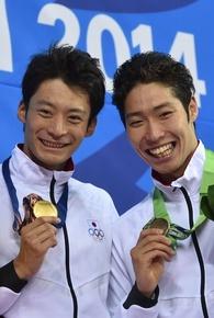 入江が男子100m背泳ぎで優勝!萩野は銅 アジア大会