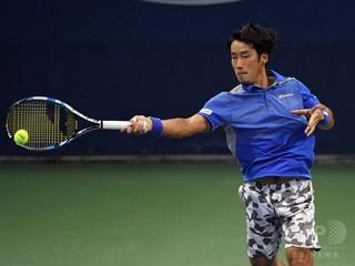 杉田と添田が2連勝、日本がデ杯WG残留に王手