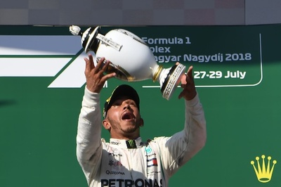 ハミルトンがハンガリーGP優勝、ベッテルとの差を広げて夏季休暇へ