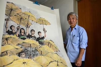 消されそうなアートを守れ 香港民主化デモ「雨傘運動」で生まれた作品、大英博物館へ