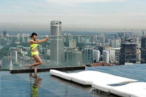 Marina bay sands infinity pool singapore - 10 Afpbb News