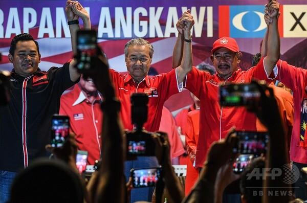 マハティール元首相、ランカウイから出馬 マレーシア総選挙