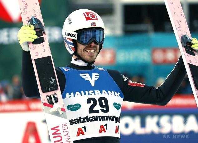 スティエルネンがフライングヒルでW杯初優勝、葛西は今季最高の5位