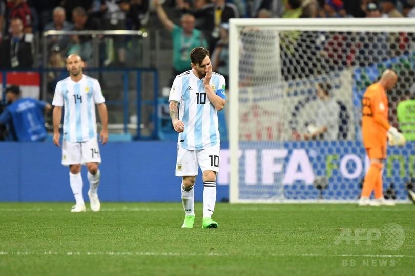 アルゼンチンが屈辱の完敗、国内メディアも「大惨事」と酷評