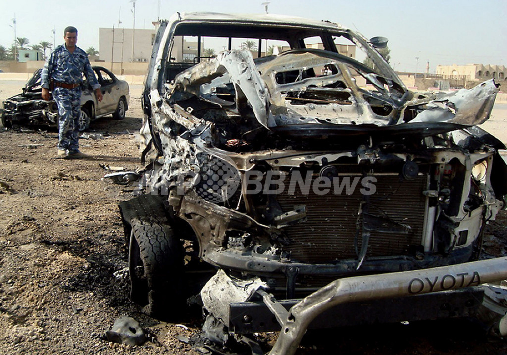 イラク西部、3か所で連続爆弾攻撃 19人死亡