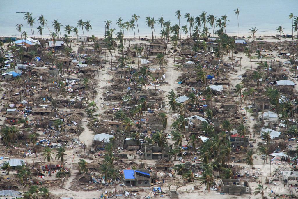 モザンビーク、サイクロン「ケネス」の死者5人に 壊滅集落「あまりにも多い」