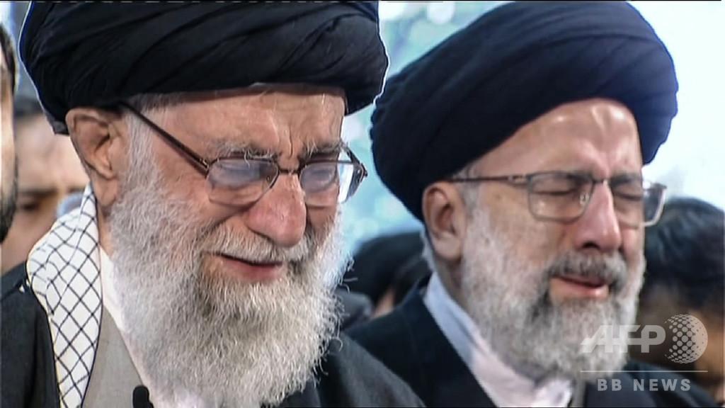 イラン指導者、司令官の死に涙 首都で「数百万人」追悼