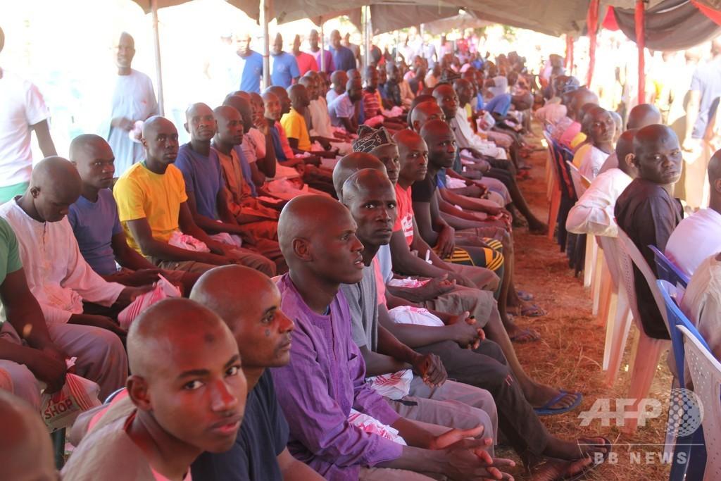 ナイジェリア軍、イスラム過激派とされた約1000人を釈放