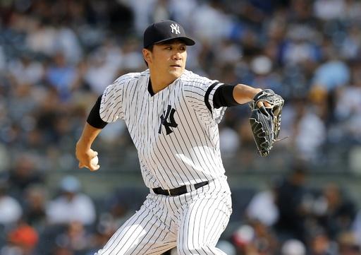 ヤンキースの連続得点試合が「220」でストップ、田中が敗戦投手に