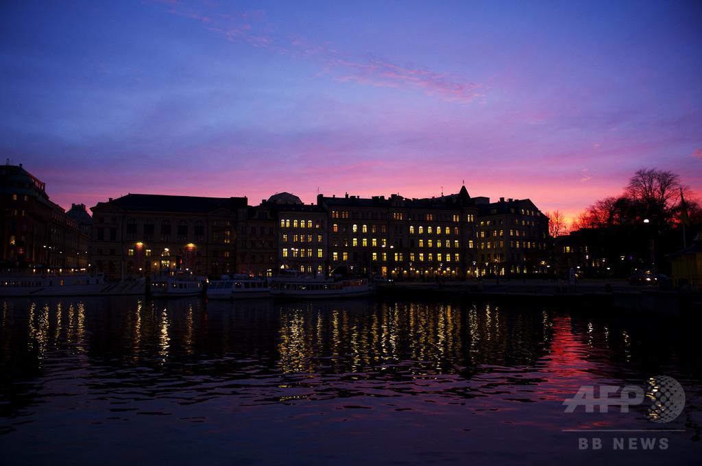 【AFP記者コラム】スウェーデンの暗い冬に見つける小さな喜び