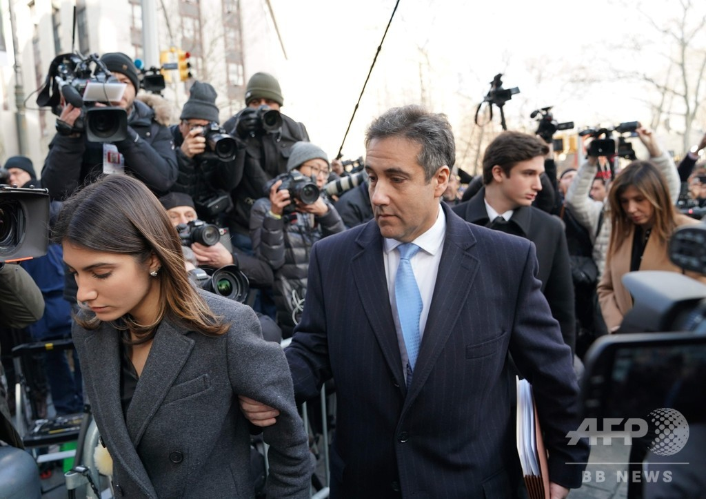 トランプ氏元弁護士に禁錮3年 大統領の「汚い行い」隠蔽認める