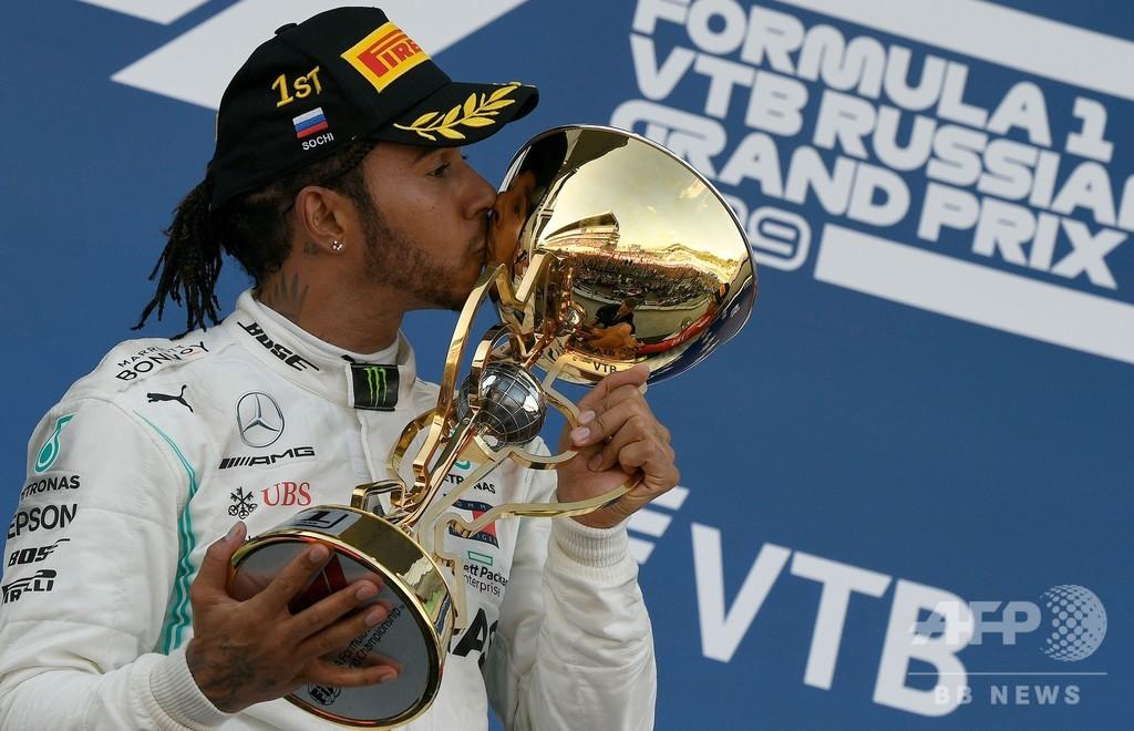 ハミルトンが4戦ぶりV、フェラーリは連勝ストップ ロシアGP