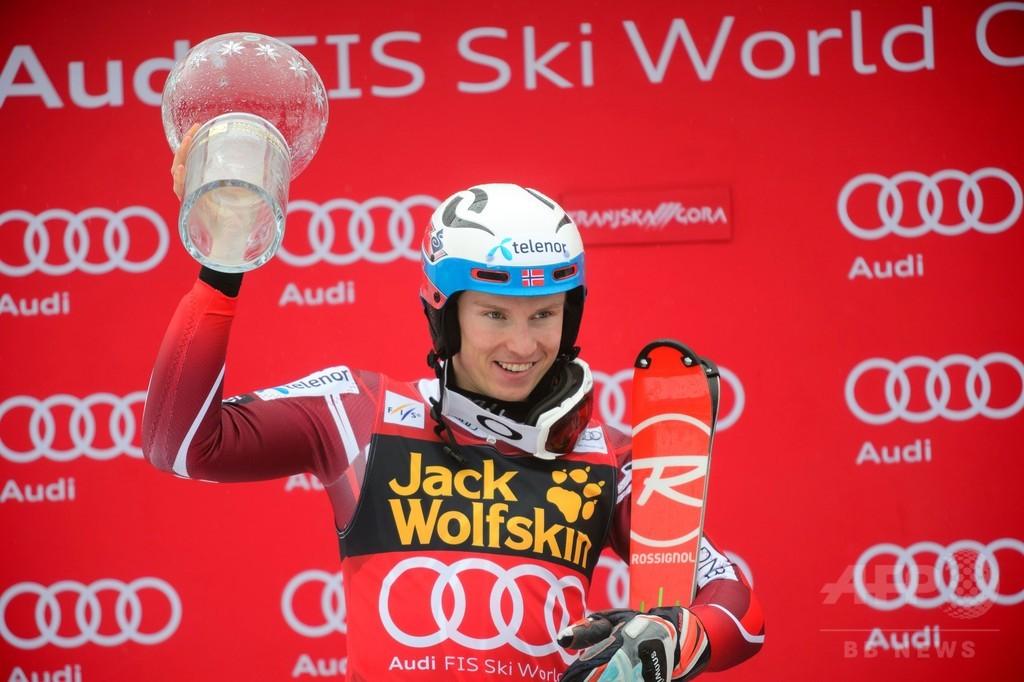 クリストファーセンが回転で種目別優勝、アルペンスキーW杯