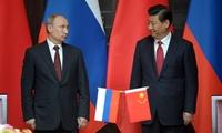 上海で中露首脳会談、合同軍事演習も 天然ガス交渉は妥結せず