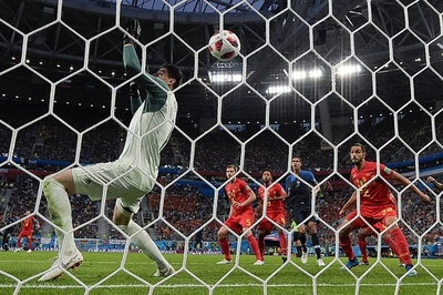ベルギー守護神、仏勝利を「サッカー界の恥」と猛批判