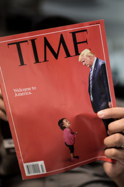 【検証】米親子分断、「泣きじゃくる女児」と「おりで泣く子ども」 写真の真実は