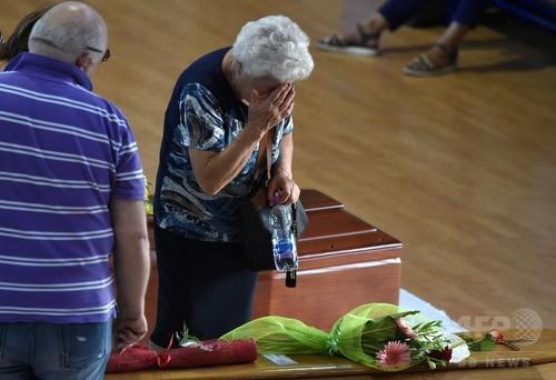 伊中部地震から3日、生存者発見の希望薄れる 全国で服喪の日