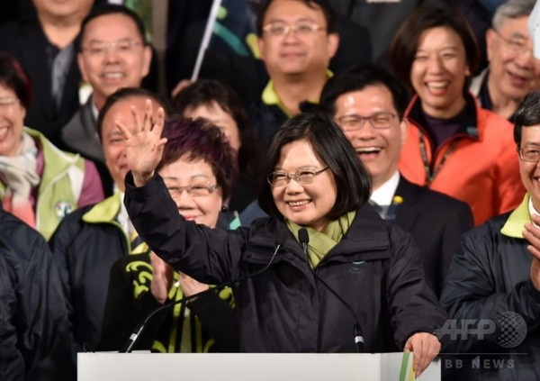 蔡氏、対日FTAに意欲=台湾