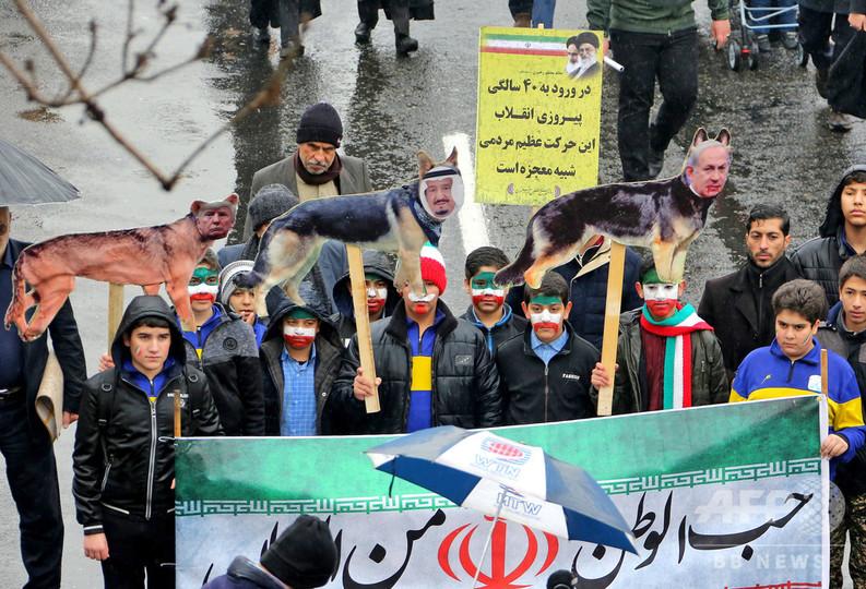 トランプ氏、革命後のイランは「失敗の40年」