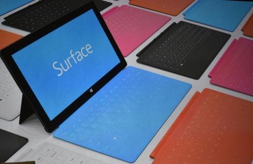 米MSのタブレット端末「サーフェス」、価格は499ドルから