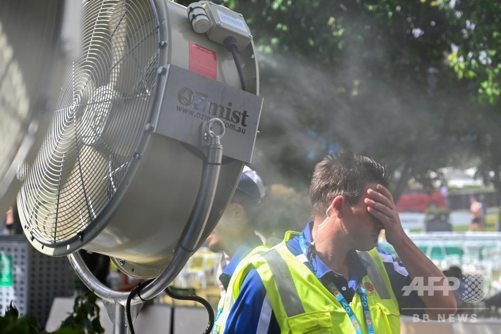 猛暑の豪南部、20万世帯で停電 気温42度超のメルボルンでも
