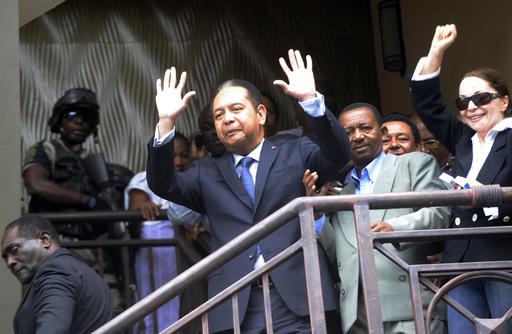 ハイチ元独裁者を汚職・横領容疑で訴追