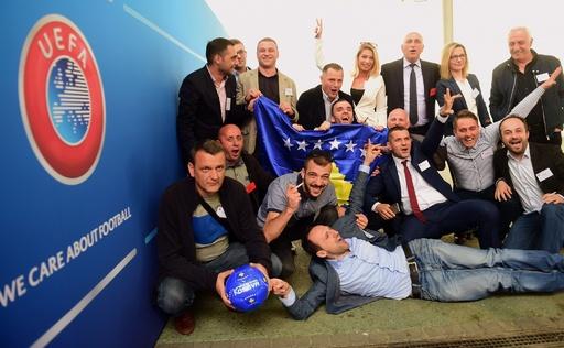 UEFAがコソボの加盟承認、55番目の加盟に