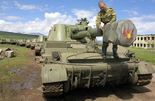 ロシア国防省、グルジア紛争地域の平和維持部隊増強を発表
