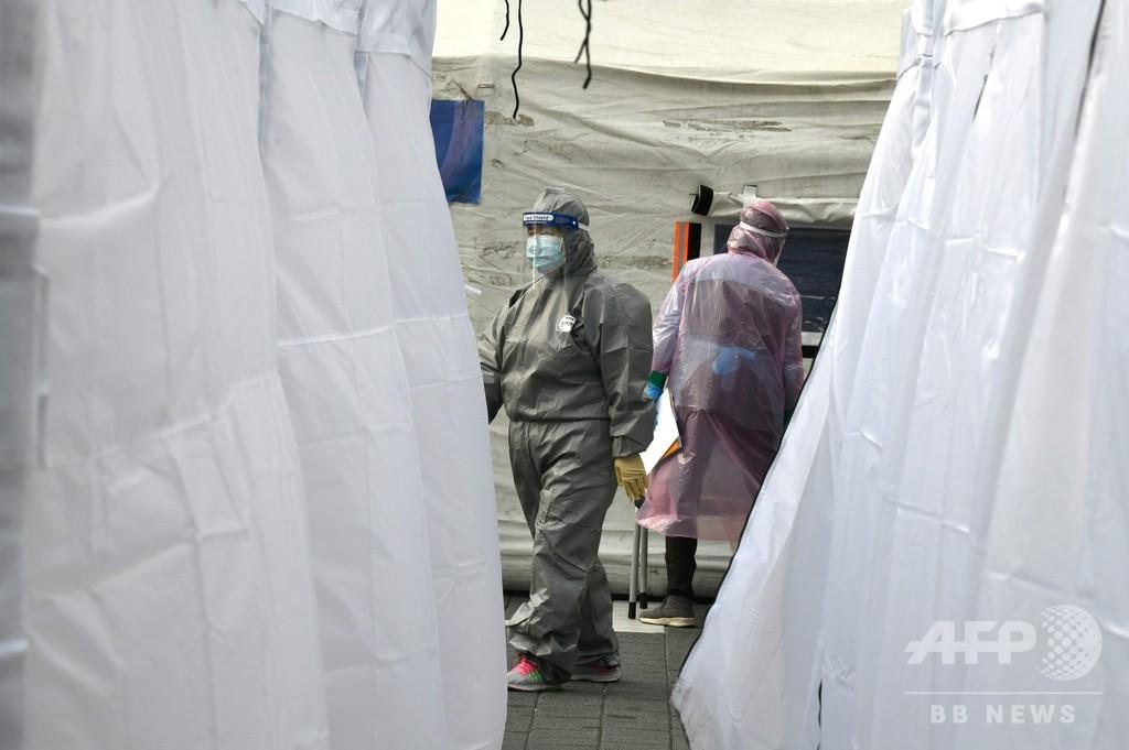 新型コロナ、EU全域に拡大 欧州の死者500人超える