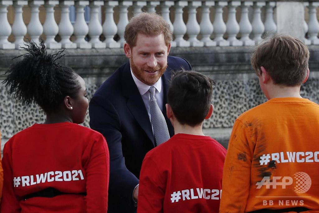 英ヘンリー王子、「引退」表明後初めて公の場に 沈黙貫く