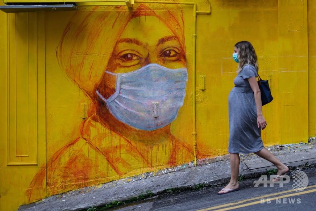 マスクのコロナ感染抑制効果、ハムスター実験で明らかに 香港大