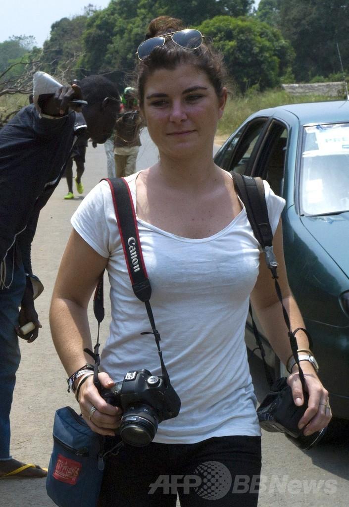 中央アフリカで仏報道写真家が死亡、待ち伏せ攻撃か