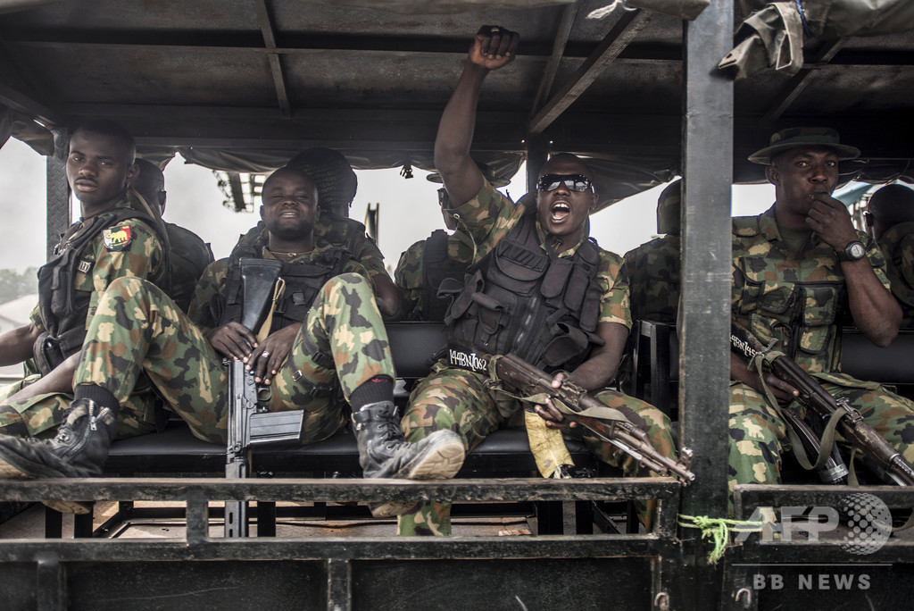「盗賊団」がナイジェリア軍襲撃、少なくとも兵士23人死亡