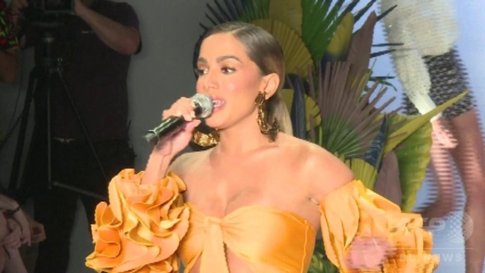 動画:サンパウロ・ファッションウイーク開催、有名歌手も登場